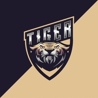 Logo głowy tygrysa