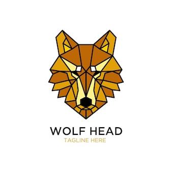 Logo głowy wilka