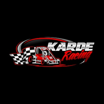 Logo gokart racing