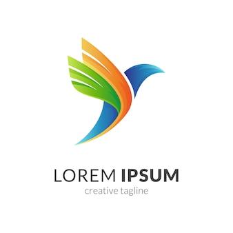 Logo gołębia