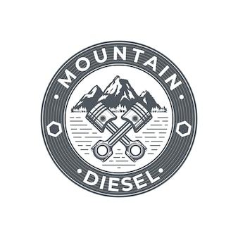 Logo górskiego oleju napędowego