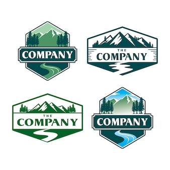 Logo góry i potoku