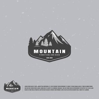 Logo Góry Premium Wektorów