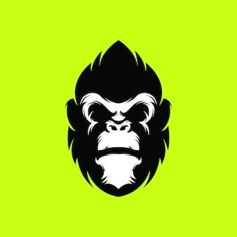 Logo goryla premium