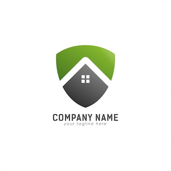 Logo green save home