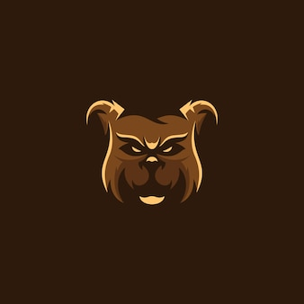 Logo grizzly bear