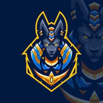 Logo gry anubis esport