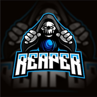 Logo gry e-sportowej maga reaper