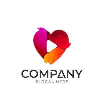 Logo gry serca
