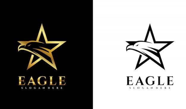 Logo gwiazdy z orłem
