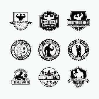 Logo gym fitness