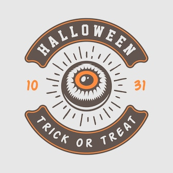Logo halloween, godło