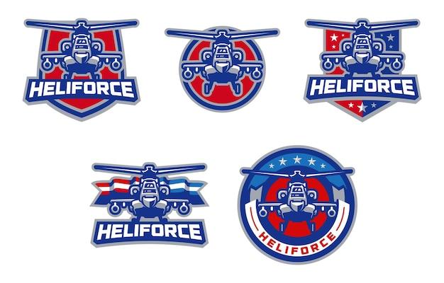 Logo heliforce sport