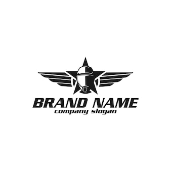 Logo hełmu