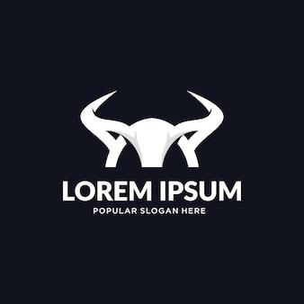 Logo horn bull