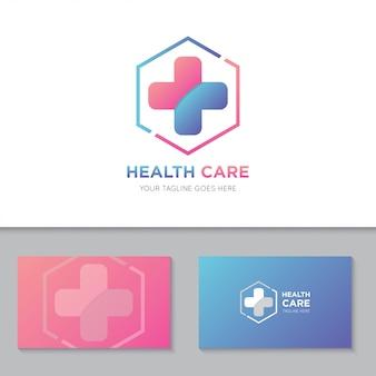 Logo i ikona medycznej opieki zdrowotnej