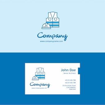 Logo i karta firmy ochroniarskiej