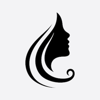 Logo i symbole włosów i twarzy