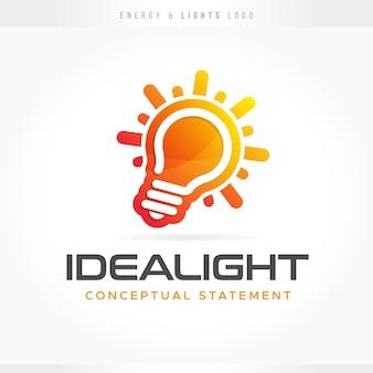 Logo idei światła