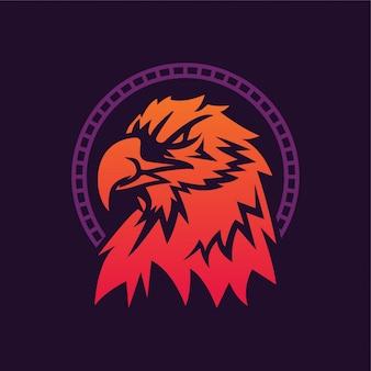 Logo ilustracja orzeł