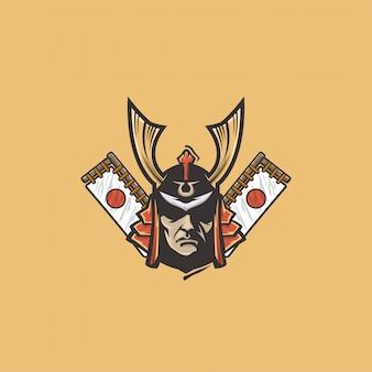 Logo japonii samurajów