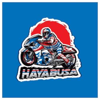 Logo jeźdźca hayabusa