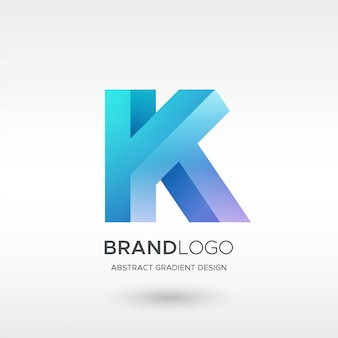 Logo k gradient