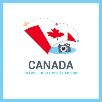 Logo kanada travel