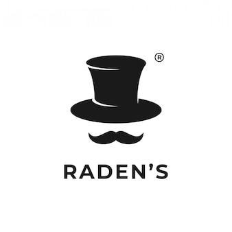 Logo kapelusza stovepipe