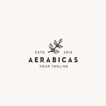 Logo kawy aerabicas