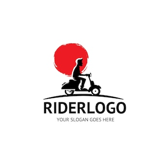 Logo kierowcy vespa piagio