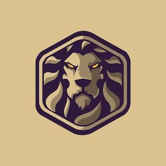 Logo king lion