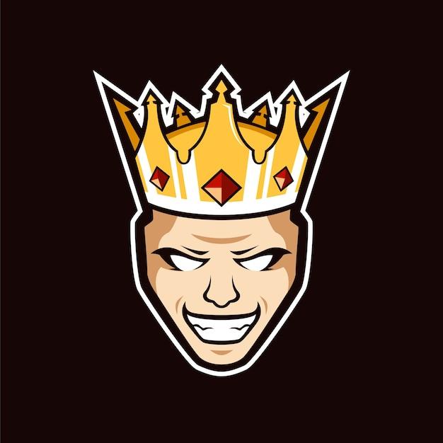 Logo king maskcot