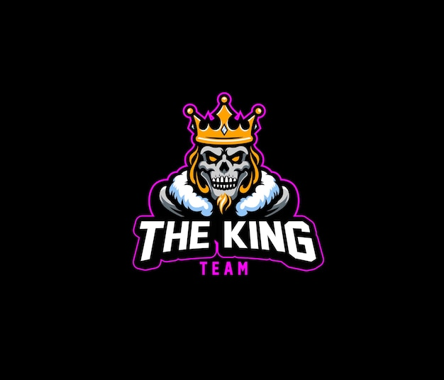 Logo king team esport