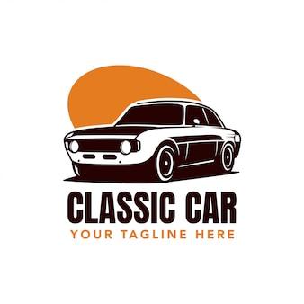 Logo klasycznego samochodu
