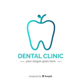 Logo kliniki gradientowej