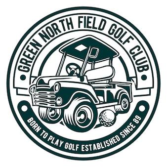 Logo klubu golfowego