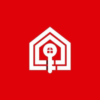 Logo klucza domowego