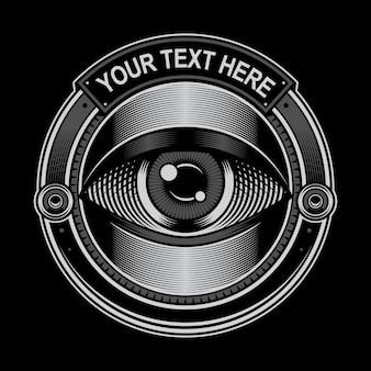 Logo koło oczu