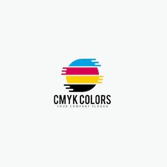 Logo kolorów cmyk