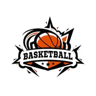 Logo koszykówki swoosh
