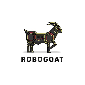 Logo kozła robota