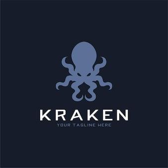 Logo Kraken Premium Wektorów