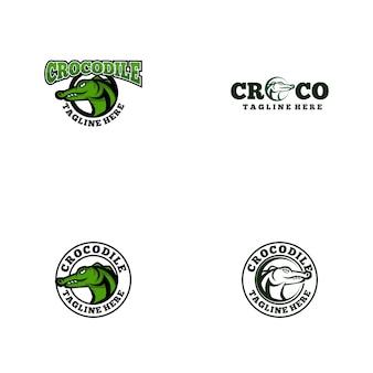 Logo krokodyla