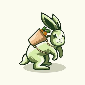 Logo królika