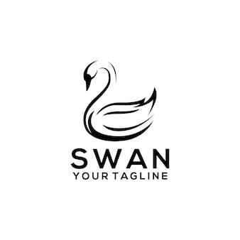 Logo łabędzia