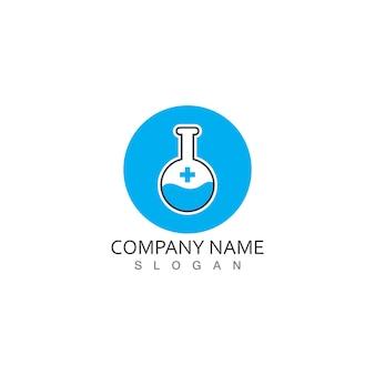 Logo laboratorium medycznego zdrowia