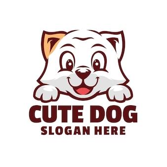 Logo ładny pies
