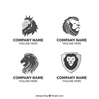 Logo león dla firm