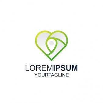Logo line art pin love awesome inspiration